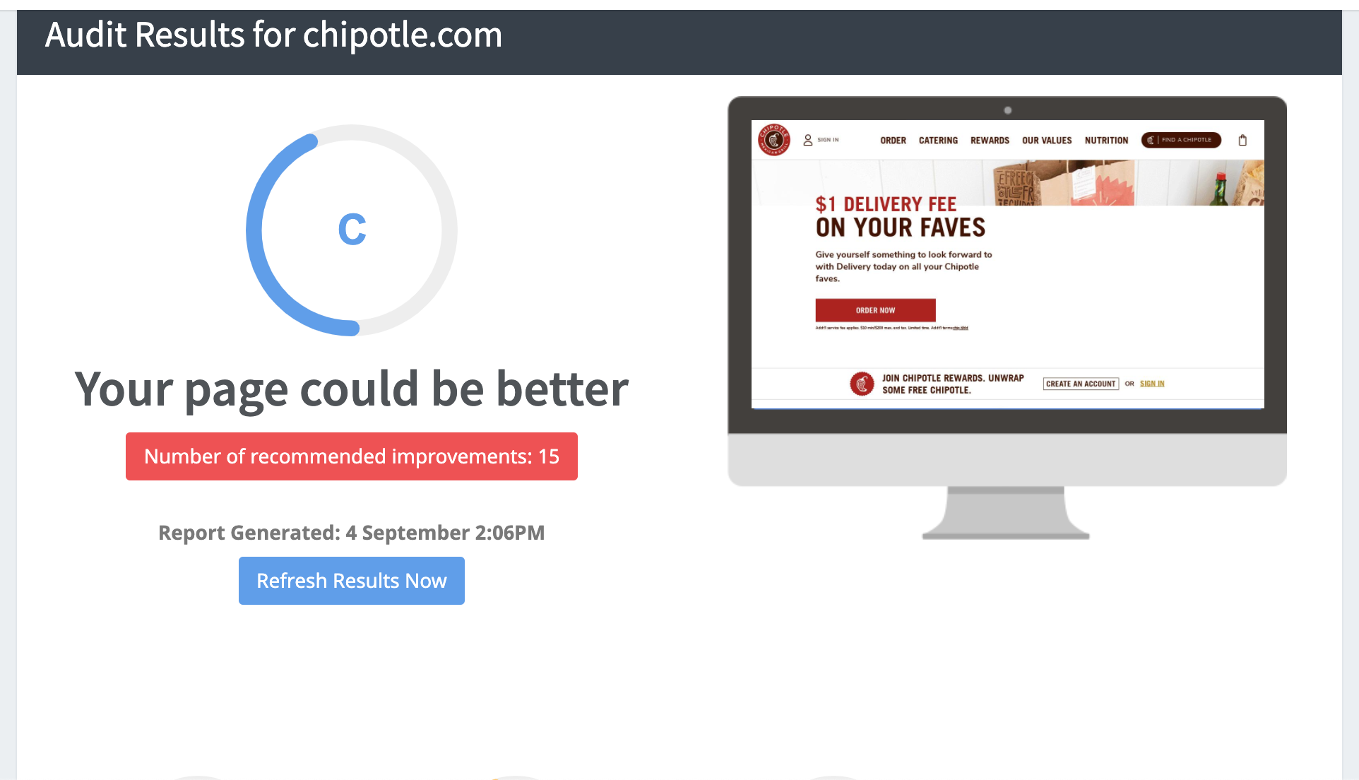 Chipotle SEO Audit